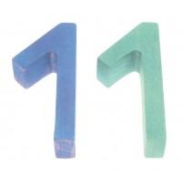 12 crayons de couleur Ferby-mine hexagonale