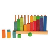 1 crayon 4 couleurs en un Ferby-mine triangulaire