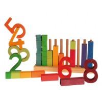 1 crayon 4 couleurs en un Ferby-mine hexagonale