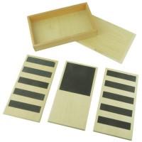 Cabinet de géométrie avec plateau de démonstration