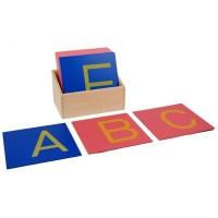 Boîte des triangles constructeurs bleus