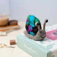 4 pelotes de laine bio -couleurs vives