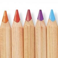 3ème boîte de tablettes de couleur en bois