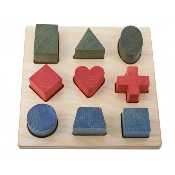 planche d 39 quilibre wobbel sans feutrine tangram montessori. Black Bedroom Furniture Sets. Home Design Ideas