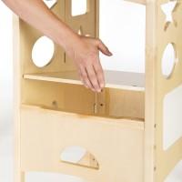 Aiguille en bois pour jeu de laçage